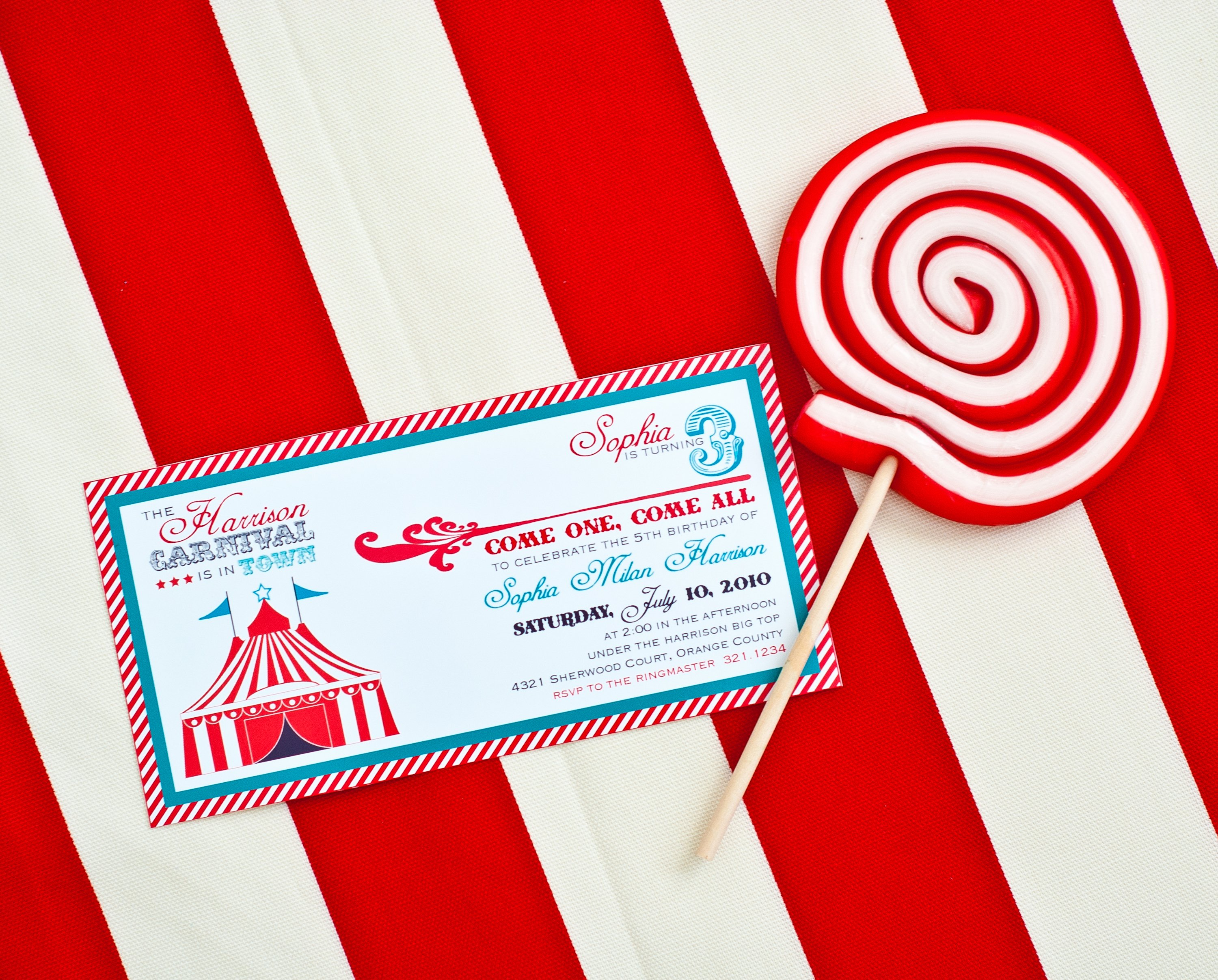 Carnival theme Party Invitations Unique Carnival Party Printables Round Up anders Ruff Custom
