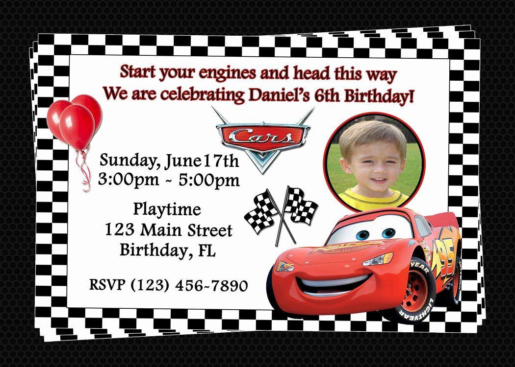 Cars Invitation Template Free Awesome Free Printable Birthday Invitations Cars