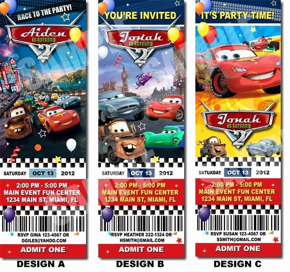Cars Invitation Template Free Fresh Best 25 Cars Invitation Ideas On Pinterest