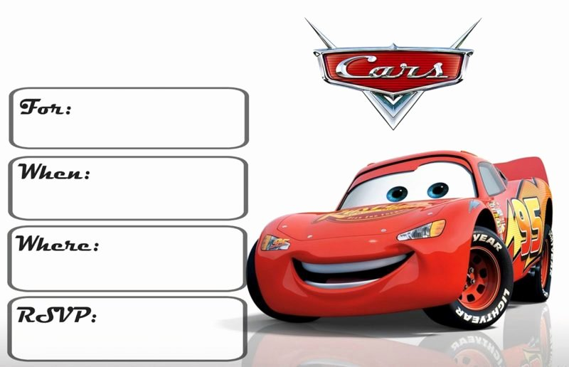 Cars Invitation Template Free Unique Cars Invitation Templates Free and Printable