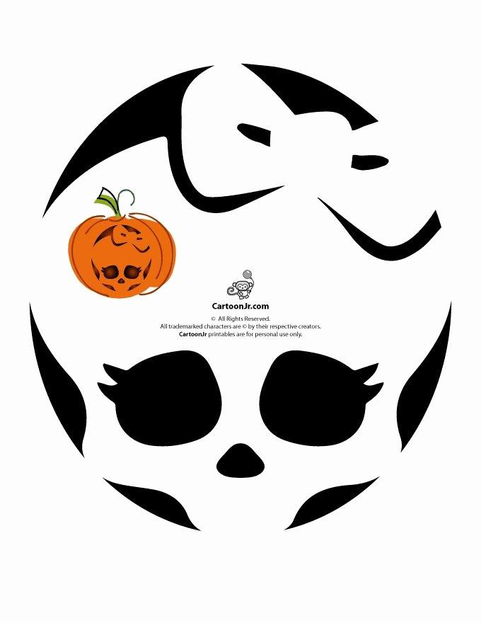 Cartoon Pumpkin Carving Patterns Best Of 17 Best Images About Halloween Pumpkin Carving Ideas On