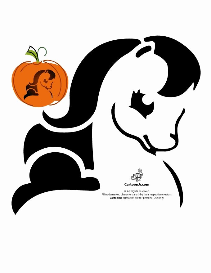 Cartoon Pumpkin Carving Patterns Best Of 17 Best Images About Pumpkin Carving Stencils On Pinterest