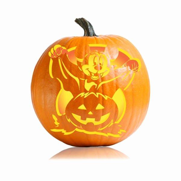 Cartoon Pumpkin Carving Patterns Luxury Vampire Mickey