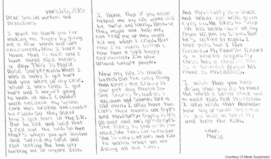 Case Note Example social Work Luxury Girl who Was Abused Writes Beautiful Note to Her social