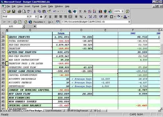 Cash Budget Template Excel Beautiful Excel Balance Sheets Inventory Cash Flow