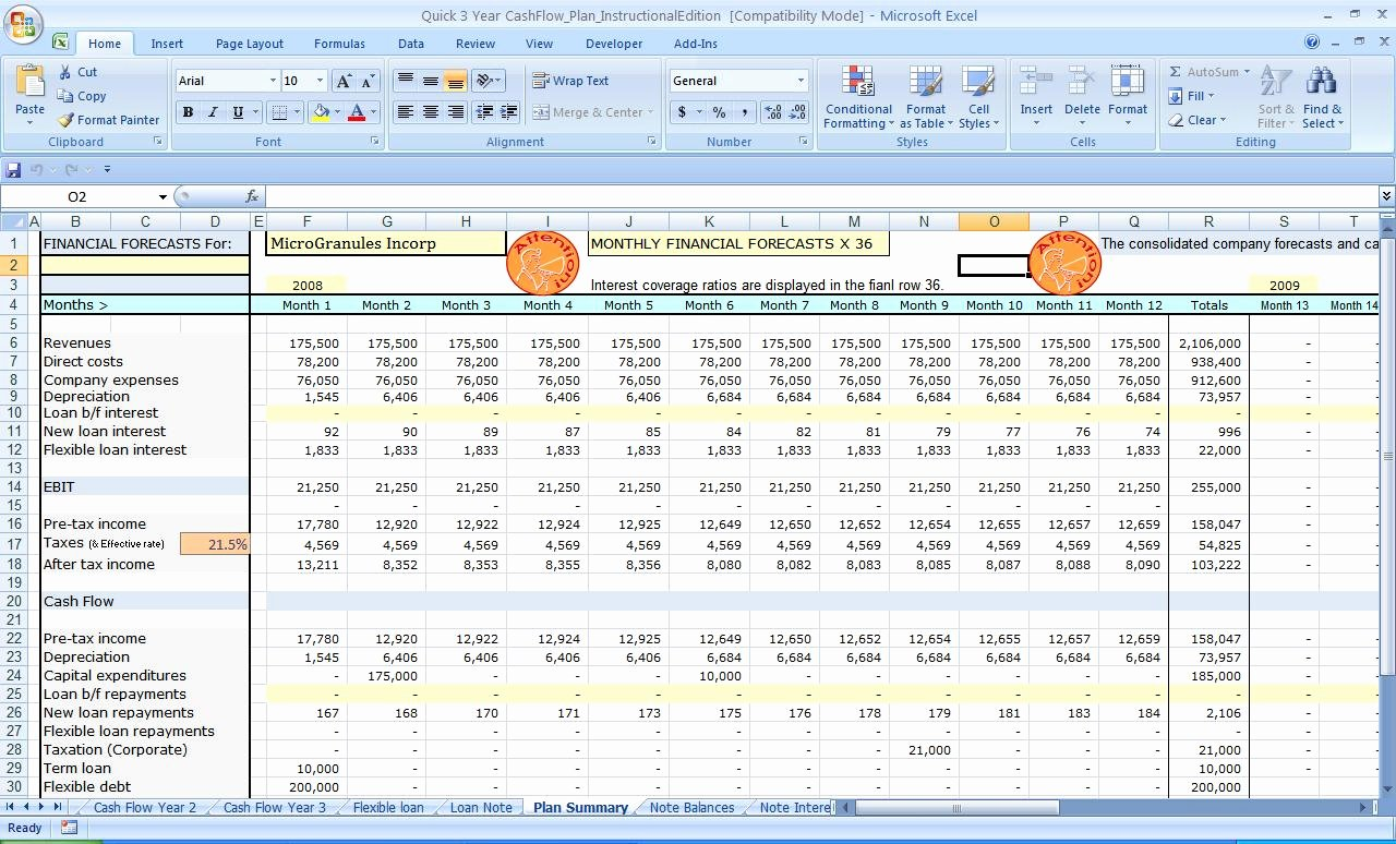 Cash Flow Template Excel Free Fresh Excel Balance Sheets Inventory Cash Flow