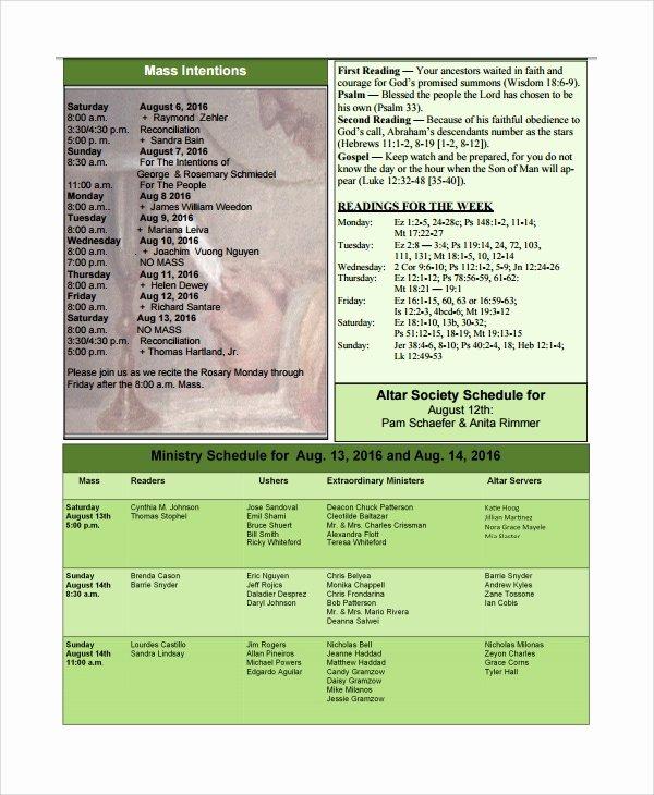 Catholic Funeral Program Templates Beautiful Sample Catholic Funeral Program 12 Documents In Pdf