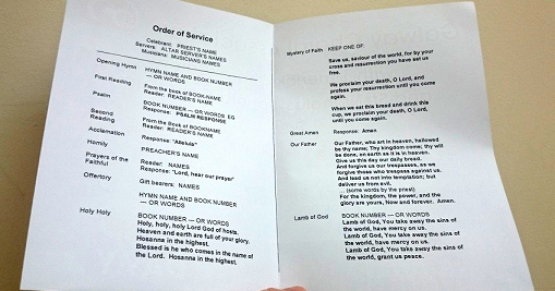 Catholic Funeral Program Templates Fresh This is A Template Document In Microsoft Word format for