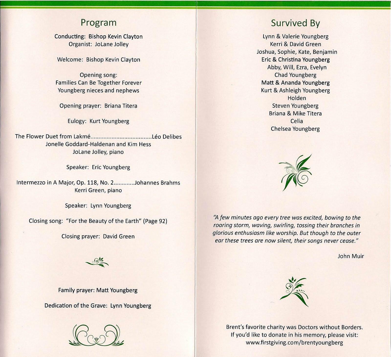 Catholic Funeral Program Templates Luxury Blog Archives Bittorrentcyprus