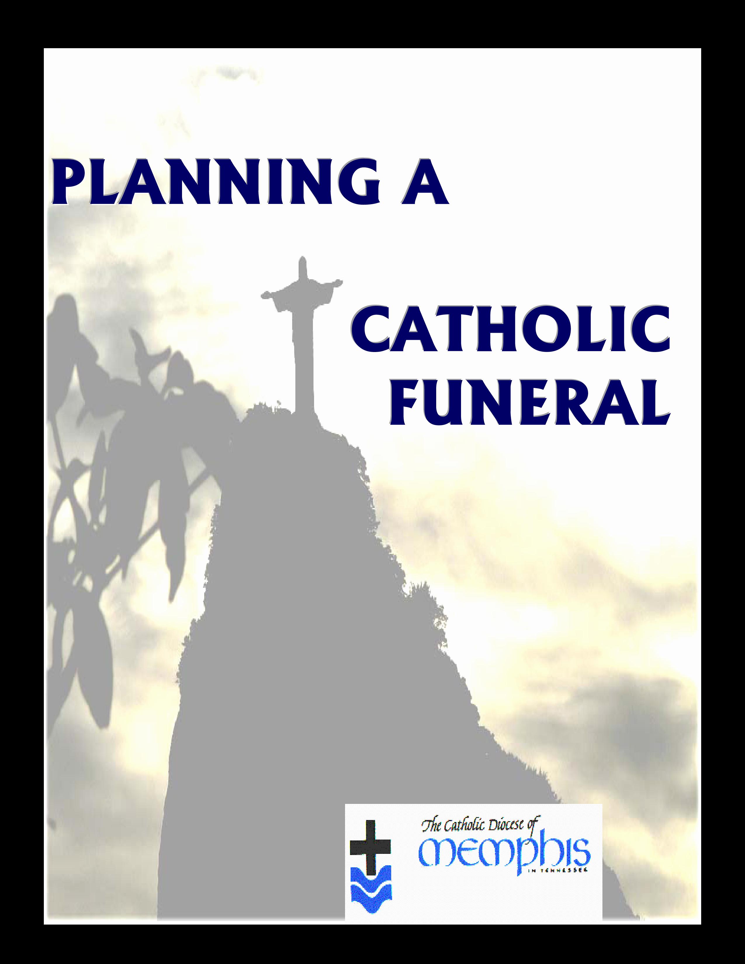 Catholic Funeral Program Templates Luxury Catholic Funeral Mass Program