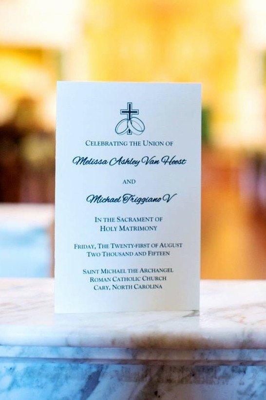 Catholic Wedding Program Templates Free Elegant Catholic Wedding Program Template Wedding Program Booklet