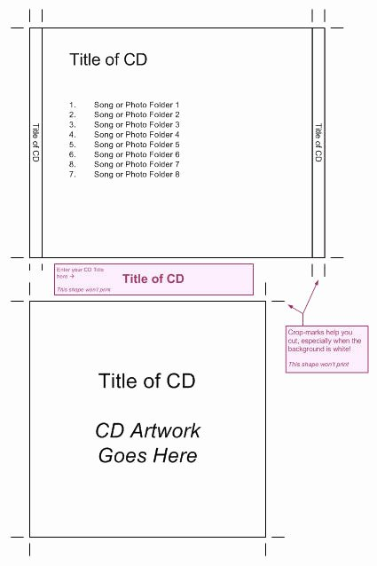 Cd Jewel Case Template Word New Cd Jewel Case Template – Visio Guy