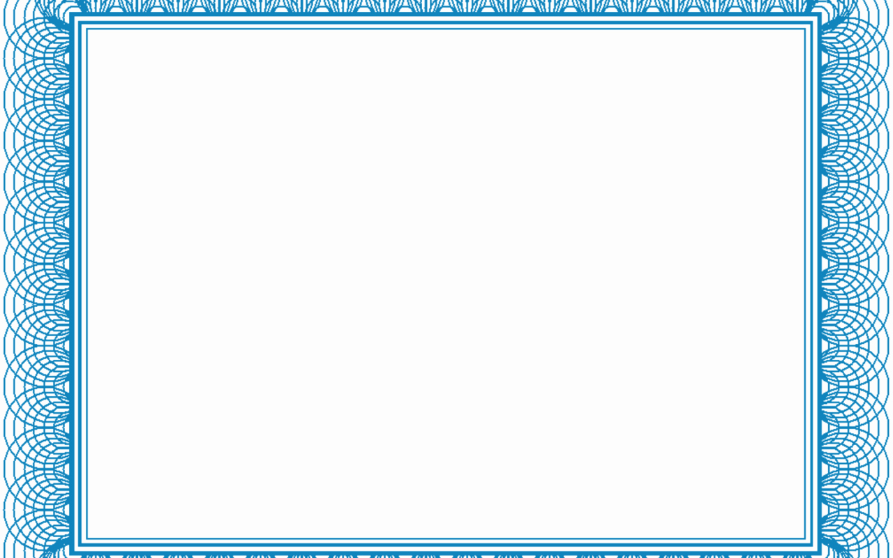 Certificate Borders for Word Awesome Blank Certificate Printable