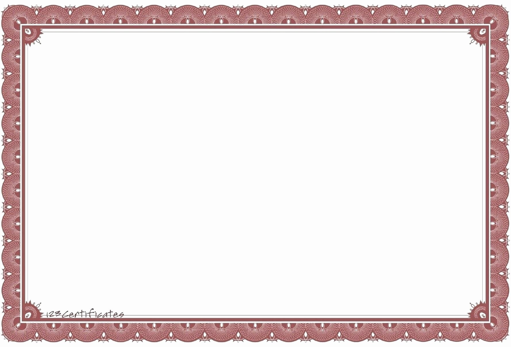 Certificate Borders for Word Beautiful Certificate Borders for Microsoft Word Flowersheet