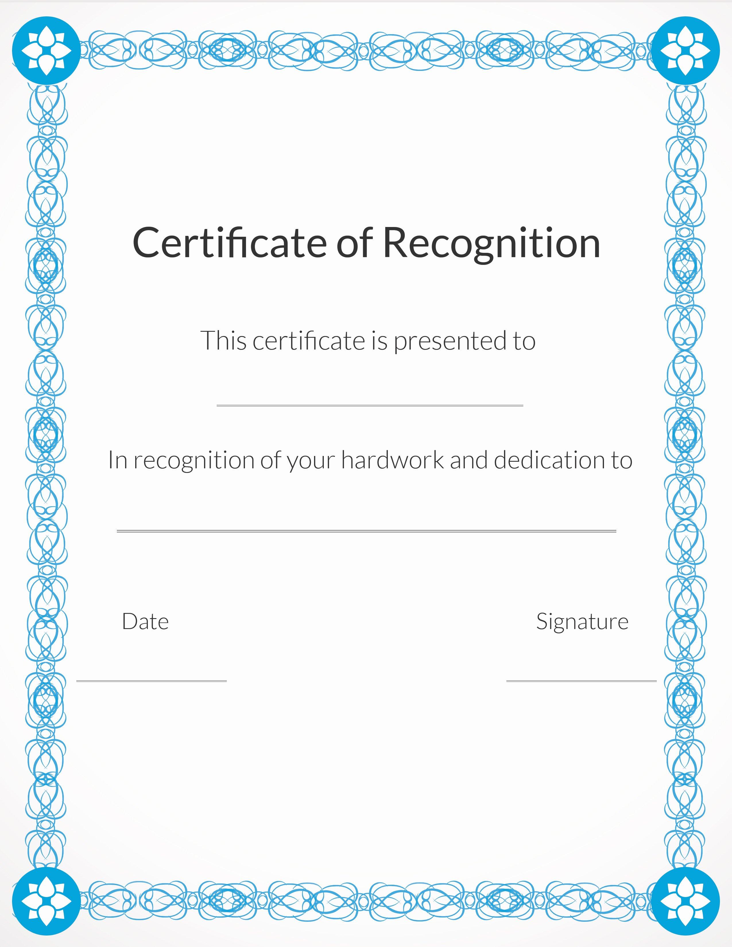 Certificate Of Appreciation for Volunteers Awesome Free Printable Volunteer Appreciation Certificates