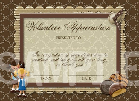 Certificate Of Appreciation for Volunteers Fresh Unavailable Listing On Etsy