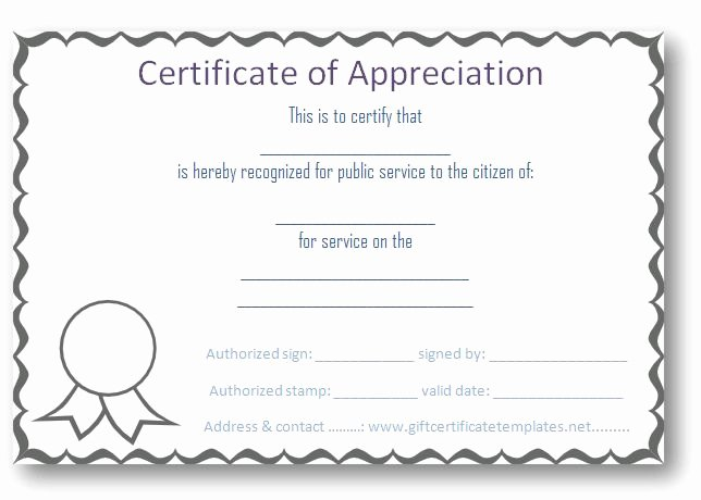 Certificate Of Appreciation for Volunteers Inspirational 37 Best Images About Certificate Of Appreciation Templates