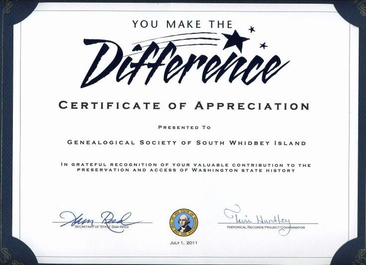 Certificate Of Appreciation for Volunteers Lovely Thank You Certificates for Volunteers