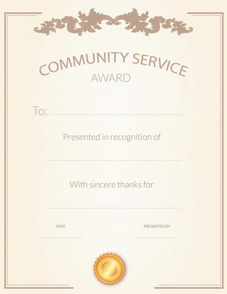 Certificate Of Appreciation for Volunteers Luxury 82 Best Volunteer Appreciation Ideas Images On Pinterest