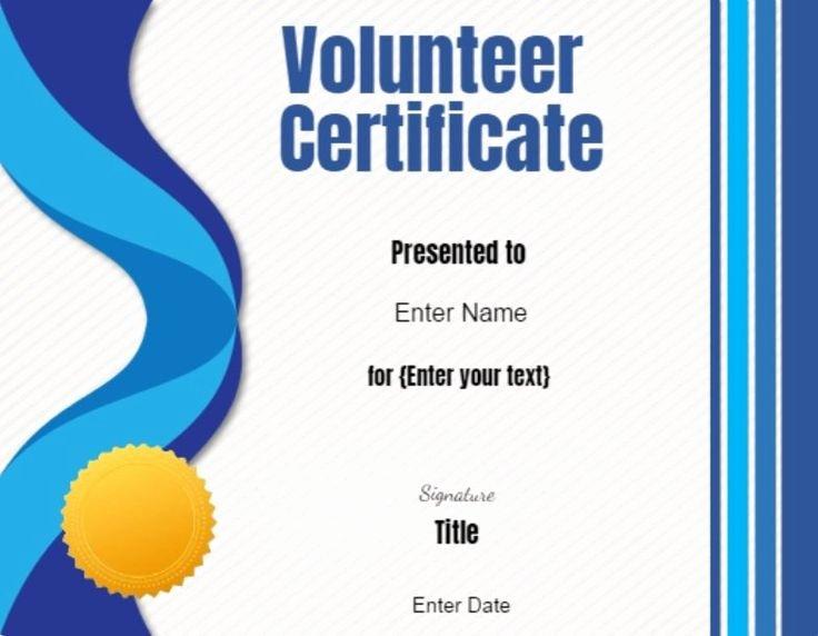 Certificate Of Appreciation for Volunteers Luxury Best 25 Certificate Of Appreciation Ideas On Pinterest