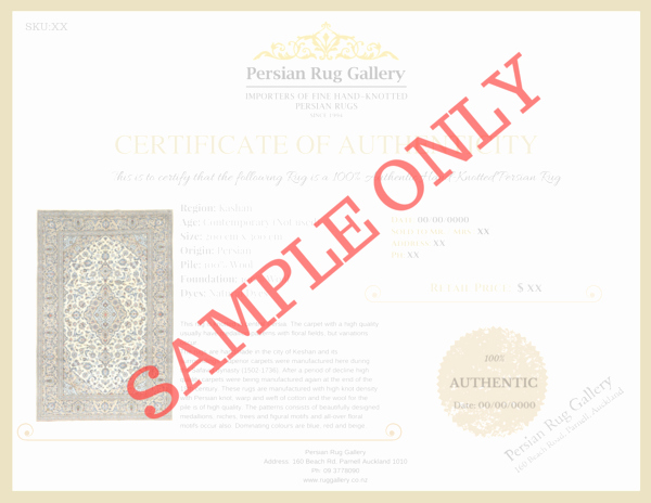 Certificate Of Authenticity form Inspirational Certificate Authenticity – Rug Gallery
