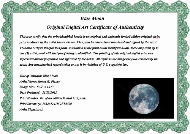 Certificate Of Authenticity Wording Beautiful Certificate Authenticity Wording