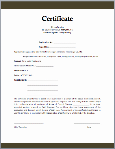 Certificate Of Conformance Example Beautiful Conformity Certificate Template Microsoft Word Templates