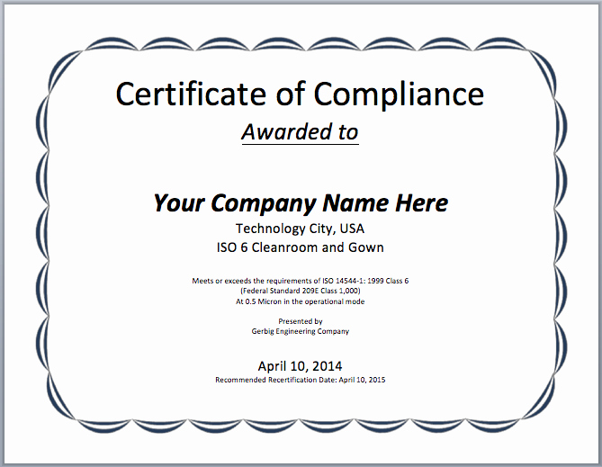 Certificate Of Conformance Example Unique Printable Certificates Archives Microsoft Word Templates