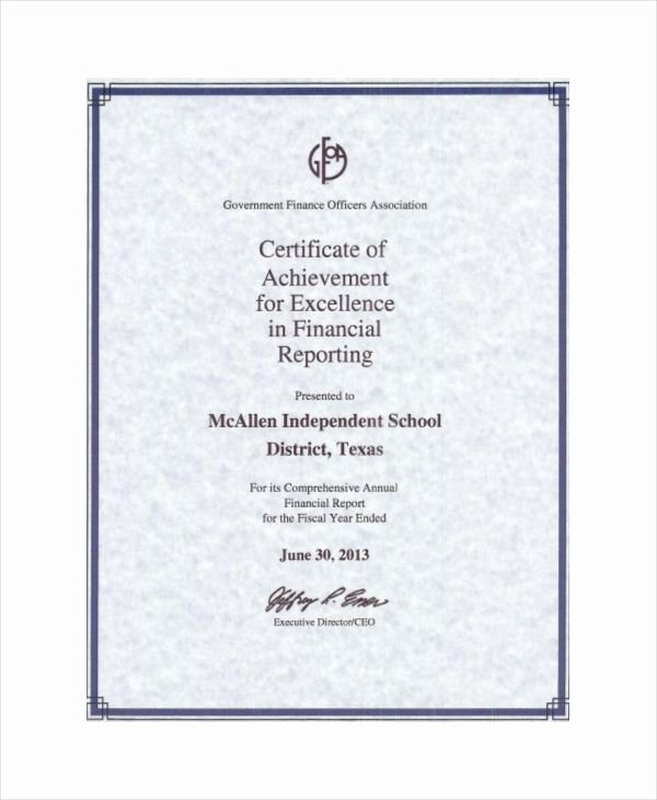 Certificate Of Excellence Template Word New 14 Certificate Of Excellence Templates