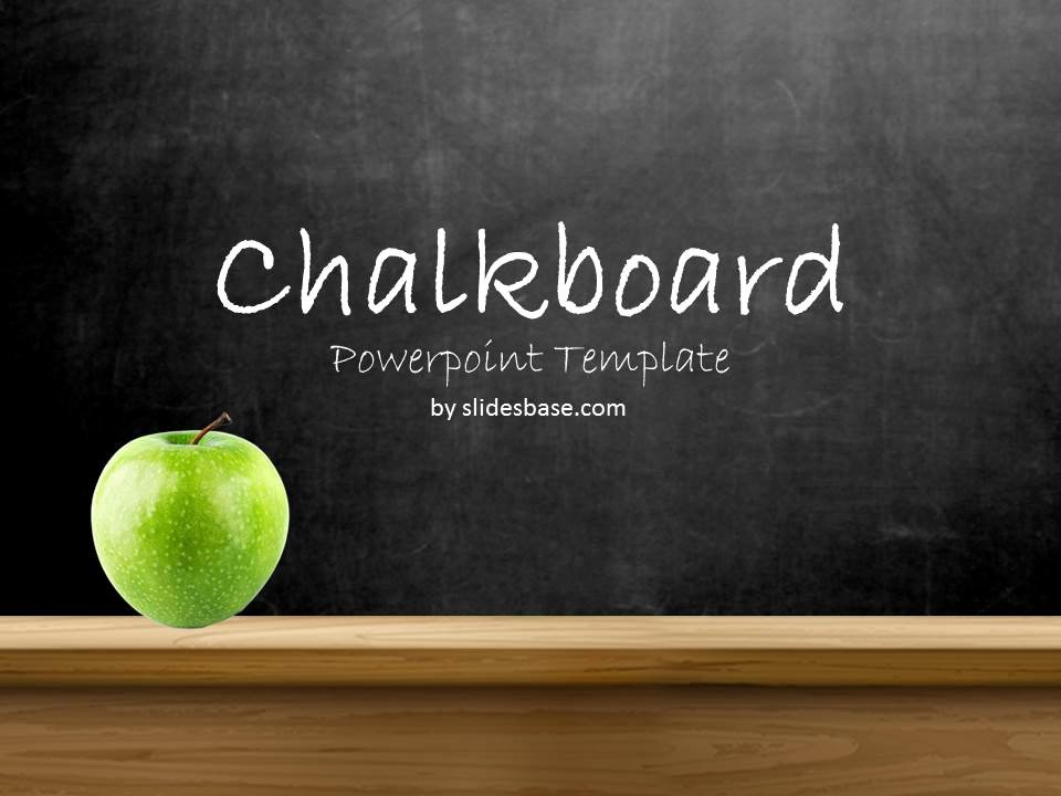 Chalkboard Powerpoint Template Free Awesome Blackboard Chalkboard Powerpoint Template