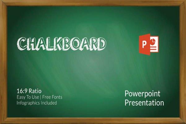 Chalkboard Powerpoint Template Free Elegant 35 Powerpoint Templates