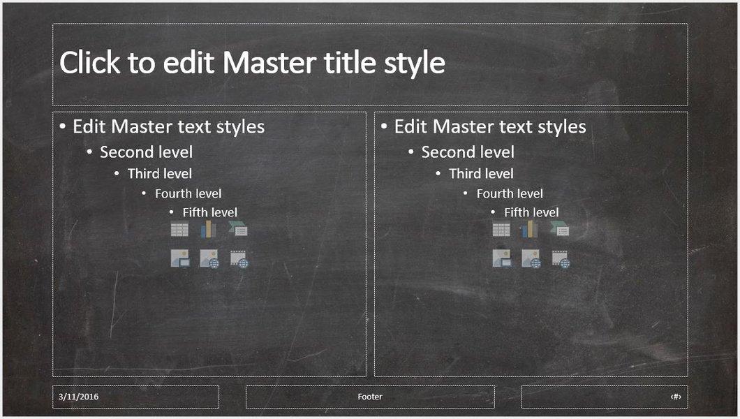 Chalkboard Powerpoint Template Free Elegant Black Chalkboard Background Powerpoint Presentation
