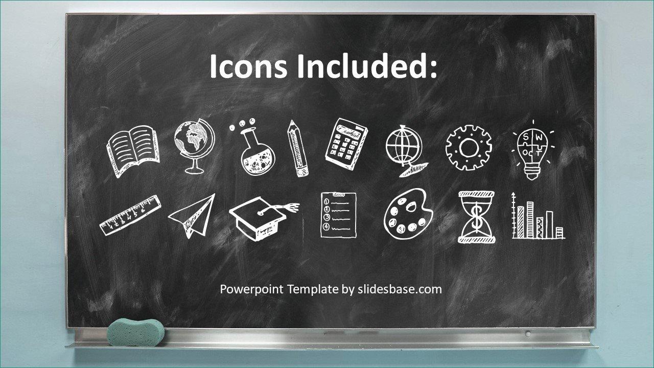 Chalkboard Powerpoint Template Free Lovely Blackboard Powerpoint Template Free Download Tun