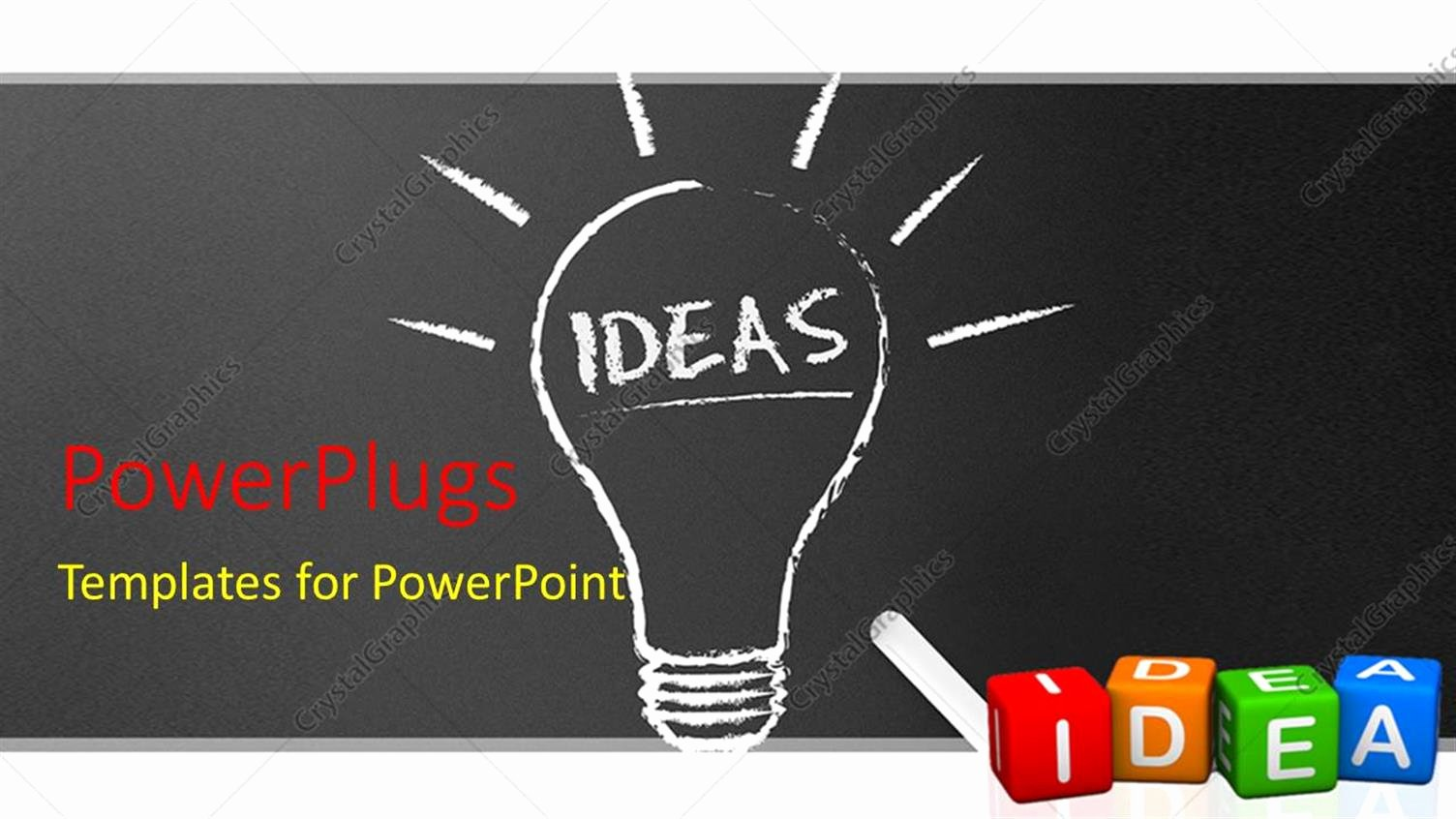 Chalkboard Powerpoint Template Free Lovely Powerpoint Template Chalkboard Blackboard with Chalk and