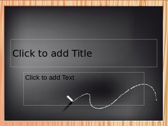 Chalkboard Powerpoint Template Free New 29 Of Chalkboard Ppt Template Free Download