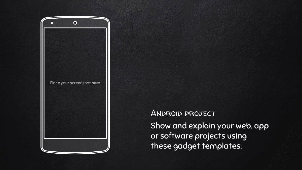 Chalkboard Powerpoint Template Free New Free Chalkboard Powerpoint Template Blackboard Ppt Design