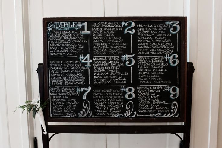 Chalkboard Wedding Seating Chart Beautiful Love This Seating Chart