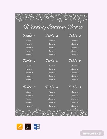 Chalkboard Wedding Seating Chart Best Of Free Chalkboard Wedding Seating Chart Template Download