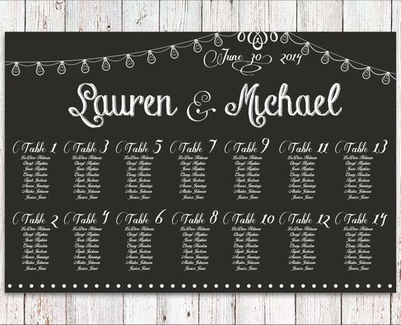 Chalkboard Wedding Seating Chart Best Of Wedding Seating Chart Rush Service Chalkboard String