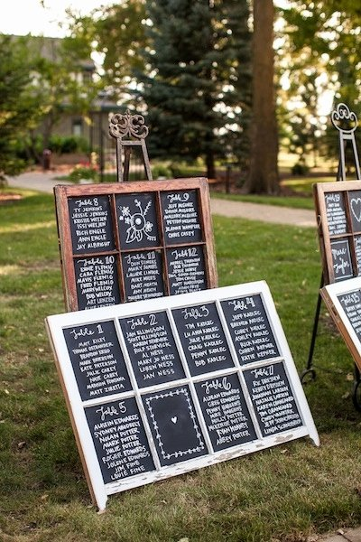 Chalkboard Wedding Seating Chart Inspirational Chalkboard Wedding Seating Chart