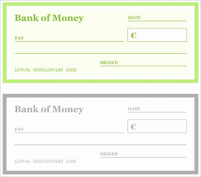 Check Template for Word Awesome 12 Blank Check Templates Free Word Pdf & Vector