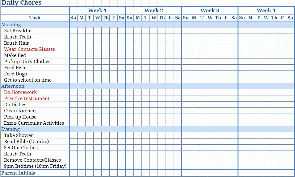 Children Chore Chart Template Beautiful Jill Samter Moms why are You so Against Me
