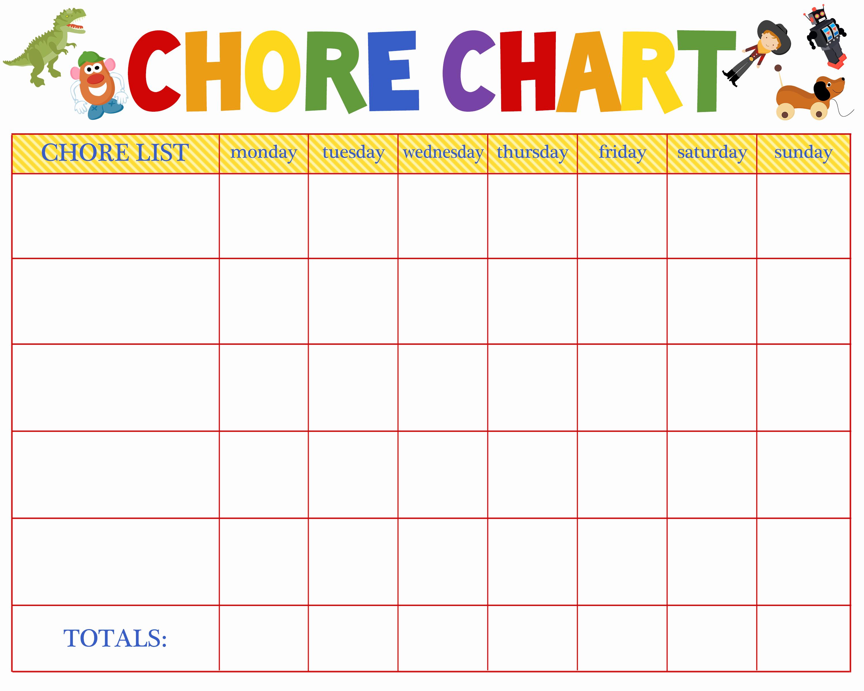 Children Chore Chart Template Elegant Free Behavioral Aid Printables Jumping Jax Designs