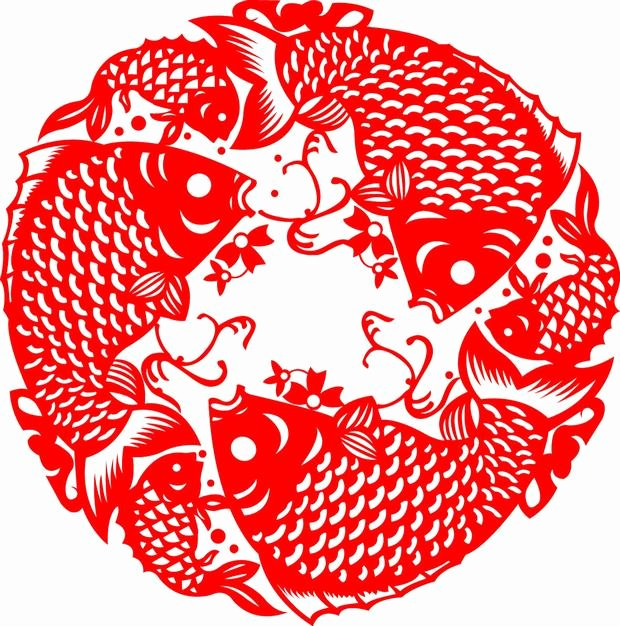 Chinese Paper Cutting Templates Awesome Chinese Paper Cutting Fish Chinese Paper Cutting