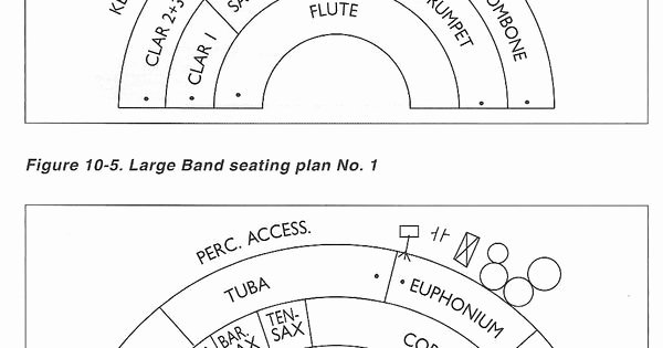 Choir Seating Chart Template Awesome Concert Band