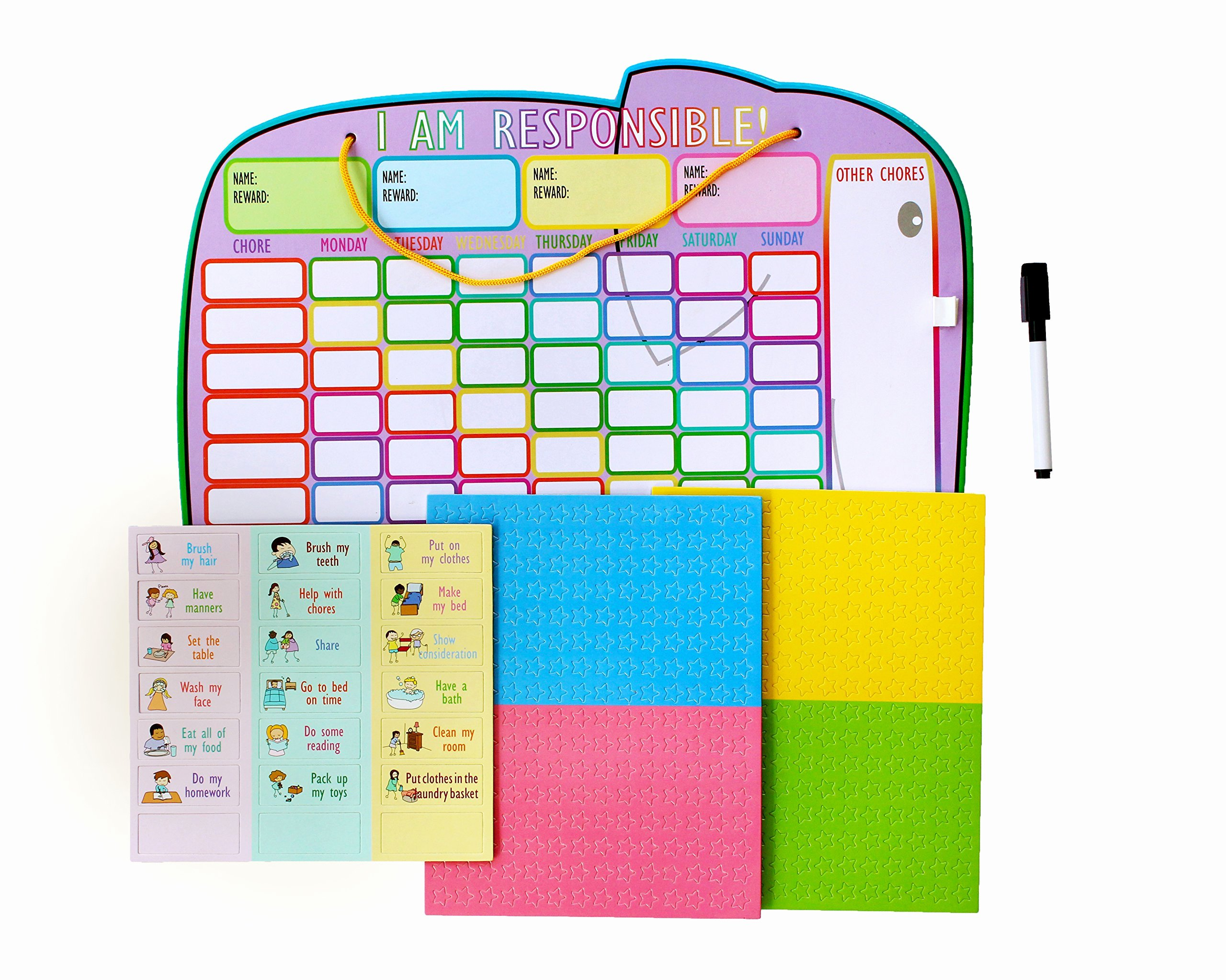 Chore Chart for Multiple Kids Awesome Behavior Charts for Home Amazon
