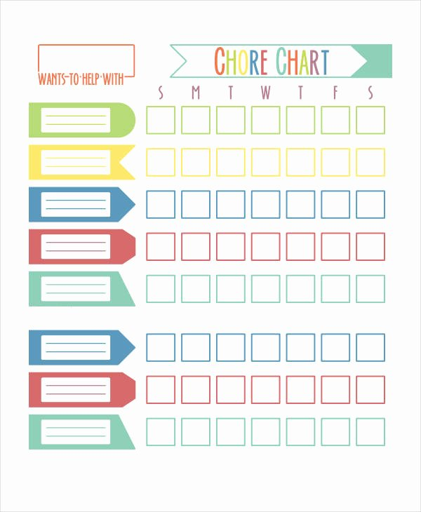 Chore Chart for Roommates Elegant Printable Roommate Chore Chart