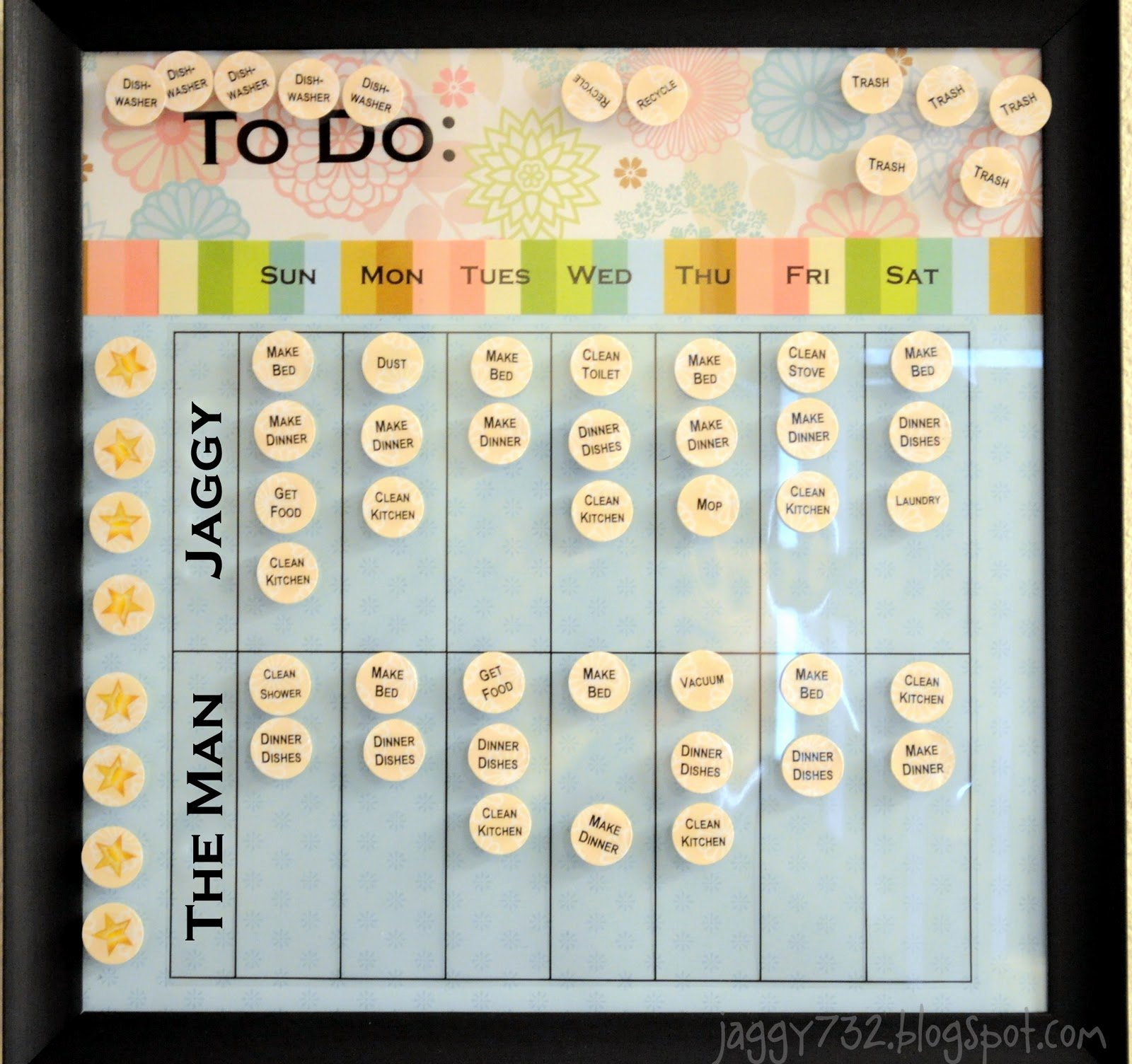 Chore Charts for Adults Awesome that forthright Girl Adult Chore Chart