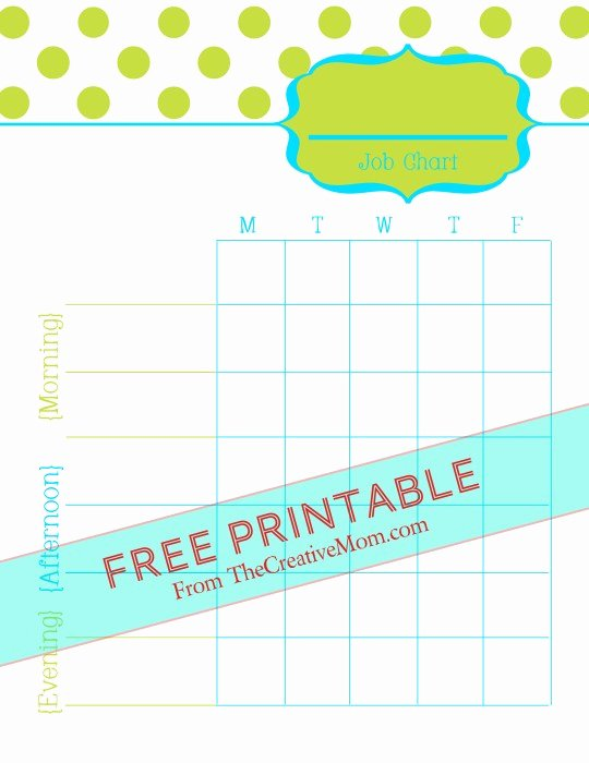 Chore Charts for Adults Beautiful Free Printable Chore Charts for Kids and Adults the