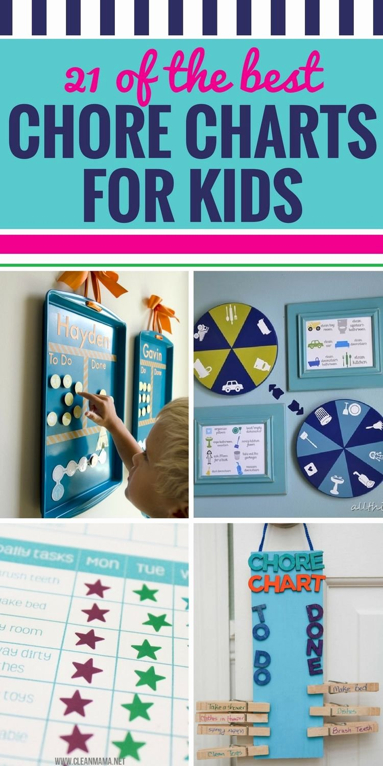 Chore Charts for Multiple Children Awesome 21 Of the Best Chore Charts for Kids